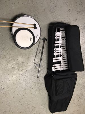Xylophone, snare drum and practice pad set for Sale in Franklin, TN