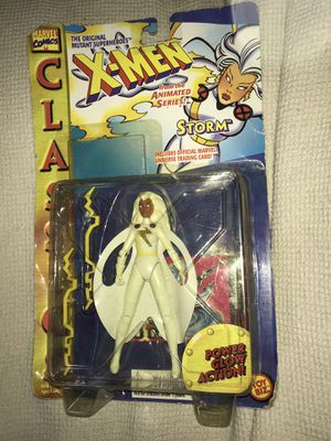 """X-Men Animated series Storm w/Power Glow Action 5""""in Figure 1995 for Sale in Atlanta, GA"""