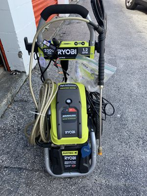 Brand new 2300 psi electric Powerwasher for Sale in New Port Richey, FL