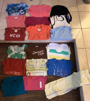 Ladies size small-medium name brand shirts for Sale in Davenport, FL