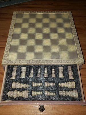 Antique chess set for Sale in Norfolk, VA