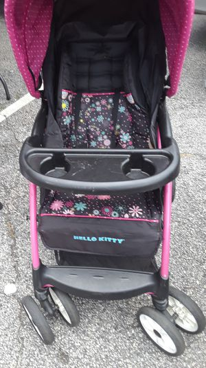 Hello kitty stroller for Sale in Decatur, GA