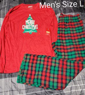NEW- Men's Xmas Pjs Size L for Sale in Renton, WA