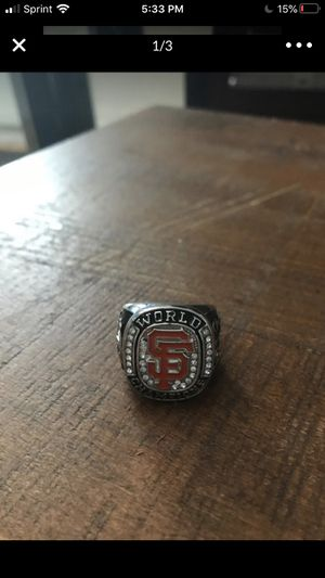 Giants Ring for Sale in Redwood City, CA