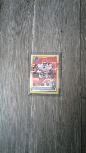 Scarce Clyde Edwards-Helaire Donruss Rated Rookie Yellow -gem for Sale in Chandler, AZ