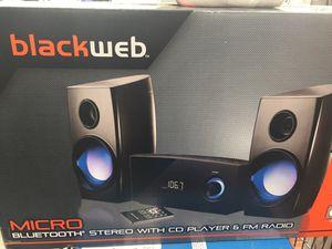 Brand new black web Bluetooth speaker for Sale in New Albany, OH