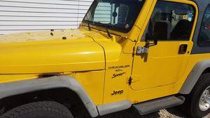 2001 Jeep Wrangler 4.0 Auto for Sale in Waukegan, IL