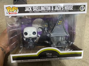 Pop Town: Nightmare Before Christmas - Jack Skellington with Jack's House for Sale in Tacoma, WA