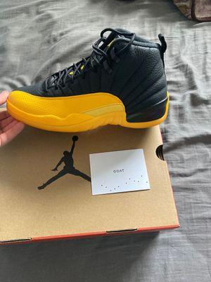 Jordan 12 retro gold for Sale in El Paso, TX