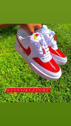 NIKE RAINBOW DRIP CUSTOMS .... I design shoes hmu for Sale in Jacksonville, FL