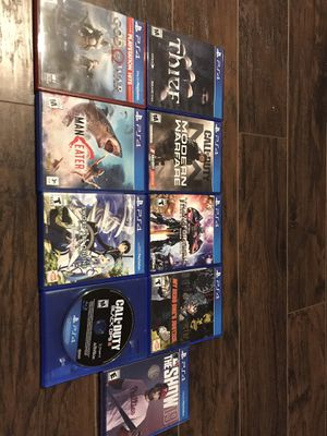 PlayStation 4 games for Sale in Orlando, FL
