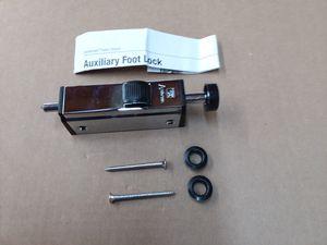 Andersen Sliding Door Foot Lock for Sale in Marlborough, MA