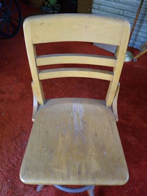 Antique adjustable draftsman chair for Sale in Columbus, OH