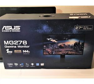 """ASUS 27"""" FreeSync Gaming Monitor 144Hz, 1440p, 1ms for Sale in Cape Coral, FL"""