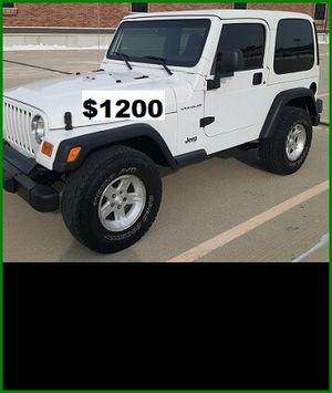 ֆ12OO Jeep Wrangler for Sale in West Covina, CA