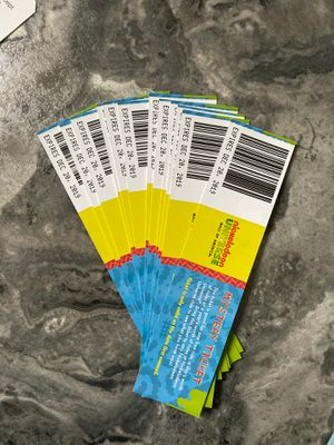 15 Nickelodeon universe mystery passes for Sale in Chanhassen, MN