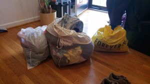 3 bags of women and girl clothes for Sale in Washington, DC