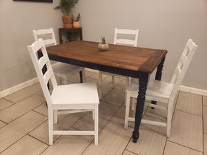 Small Farmhouse Dining Table Set | Modern Farmhouse | Small Dining Table Set for Sale in Los Angeles, CA
