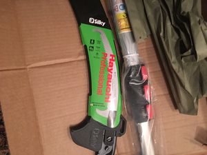 Silky Hayachi Telescoping Pole Pruning Saw 21' for Sale in Chicago, IL