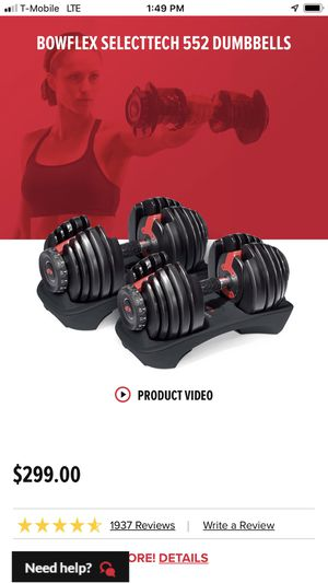 New dumbbells just $200 for Sale in Ansonia, CT