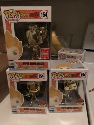 FUNKO CHROME GOLD SUPER SAIYAN VEGETA for Sale in Louisville, KY