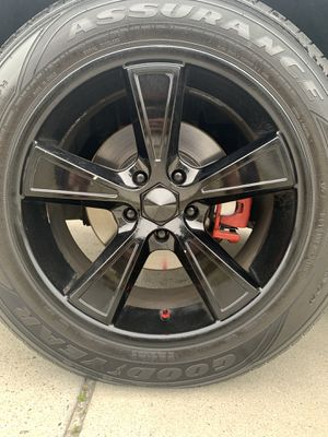 18 inch rims w Tires for Sale in Wilmington, NC