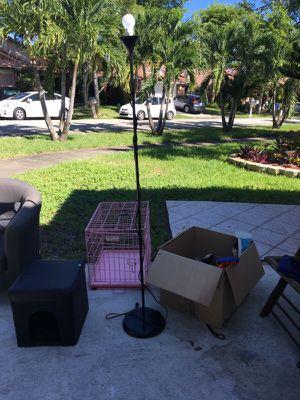 Floor lamp black for Sale in Hollywood, FL