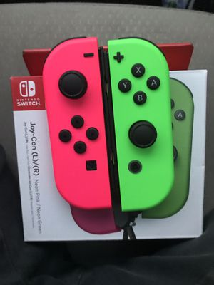 Nintendo joycons and switch car charger for Sale in Fort Worth, TX