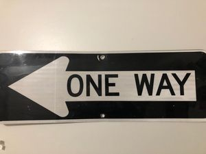 Full size (One Way) sign for Sale in Lewes, DE