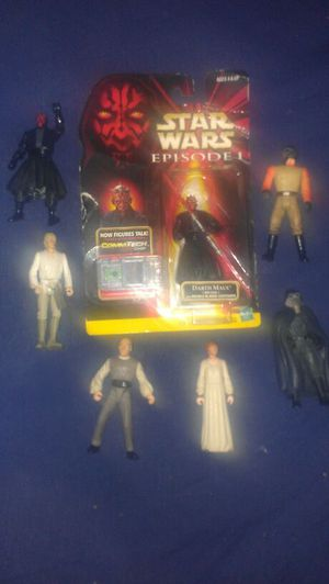 Star wars action figures for Sale in Barnhart, MO