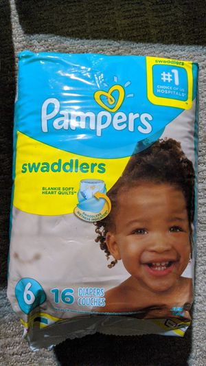 1 pack of size 6 pampers for Sale in Tampa, FL