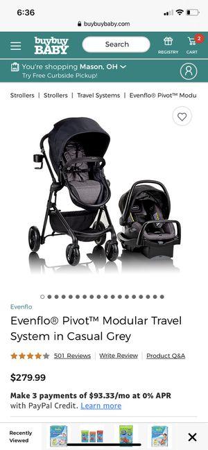Evenflo Travel set for Sale in Cincinnati, OH