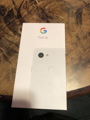 Google pixel 3a need gone brand new just opened seal still stuck tho for Sale in East Palo Alto, CA