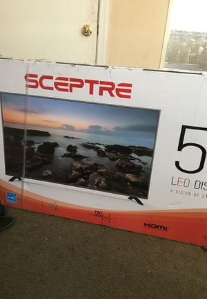 GREAT DEAL 50 inch HD TV BRAND NEW NEVER OPENED‼️ for Sale in Landover, MD