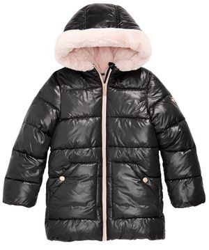 MICHAEL Michael Kors Big Girls Hooded Faux-Fur-Lined Puffer Coat for Sale in Queens, NY