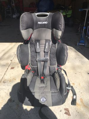 Recaro performance sport harness to booster car seat for Sale in Buffalo, NY