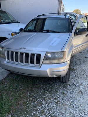 2004 Jeep Grand Cherokee 4x4 with towing package for Sale in Clearwater, FL