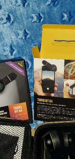 Smartphone Universal Camera Lens Travel Kit G4 Wide Lens & Macro G4 Lens Set SEE DETAILS for Sale in Waco,  TX