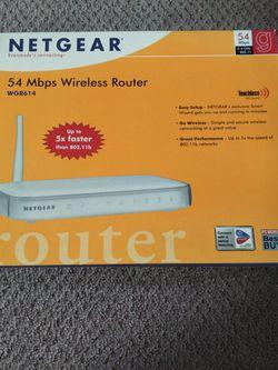 Netgear WGR614 Wireless Router for Sale in Norfolk,  VA