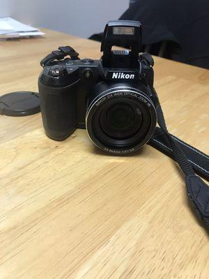 Nikon Coolpix L120 Digital Camera (Black) for Sale in Washington, PA