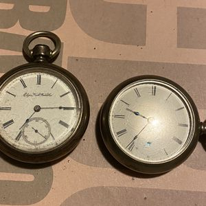 2 vintage pocket watches for Sale in Lansing, IL