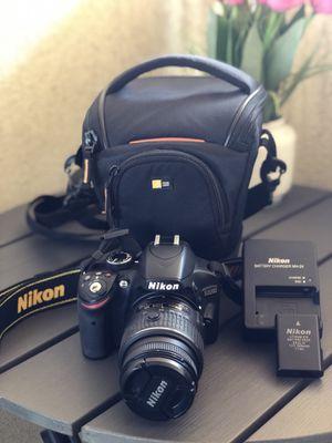 Nikon camera D3200 for Sale in Glendale, CA