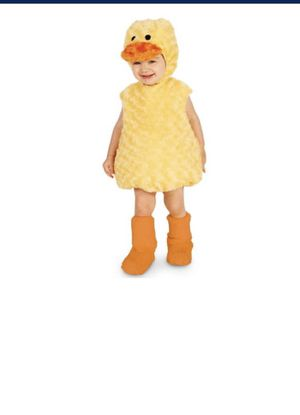 Baby duckling costume 12-18m for Sale in Washington, DC