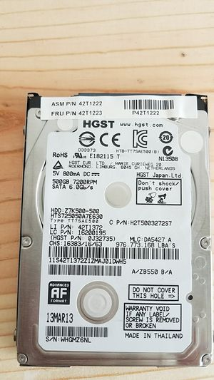 500gb DATA notebook Hdds for Sale in Port St. Lucie, FL