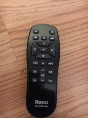 Roku sound bridge remote control for Sale in Portland, OR