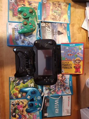 Nintendo Wii U full setup with games for Sale in Citrus Heights, CA