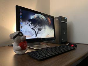 Nice HP Desktop Bundle, WiFi! for Sale in Tulsa, OK
