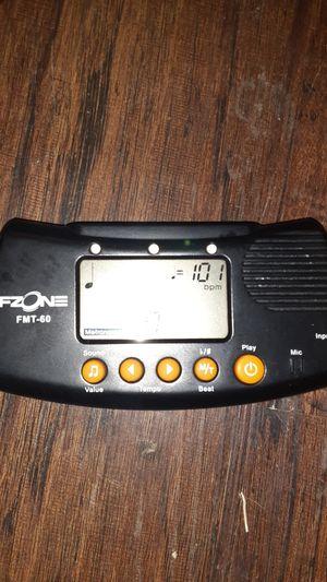 Fzone fmt-60 guitar tuner for Sale in Dallas, TX