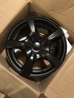 Touren 16x7 matte black wheel rim for Sale in Columbia,  SC