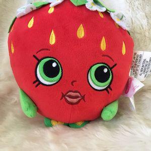 Shopkins strawberry kiss pillow buddy stuffed Animal for Sale in Menifee, CA